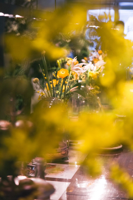 Floral arrangement in a bell jar   Ellermann Flowers Hong Kong   Tracy Wong Photography