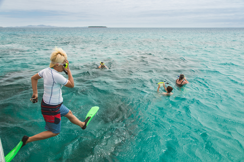 Snorkeling at Cloud Break Fiji – travel lifestyle photography