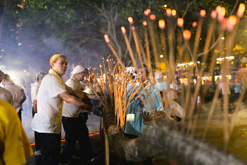 Incenses added to Tai Hang Fire Dragon