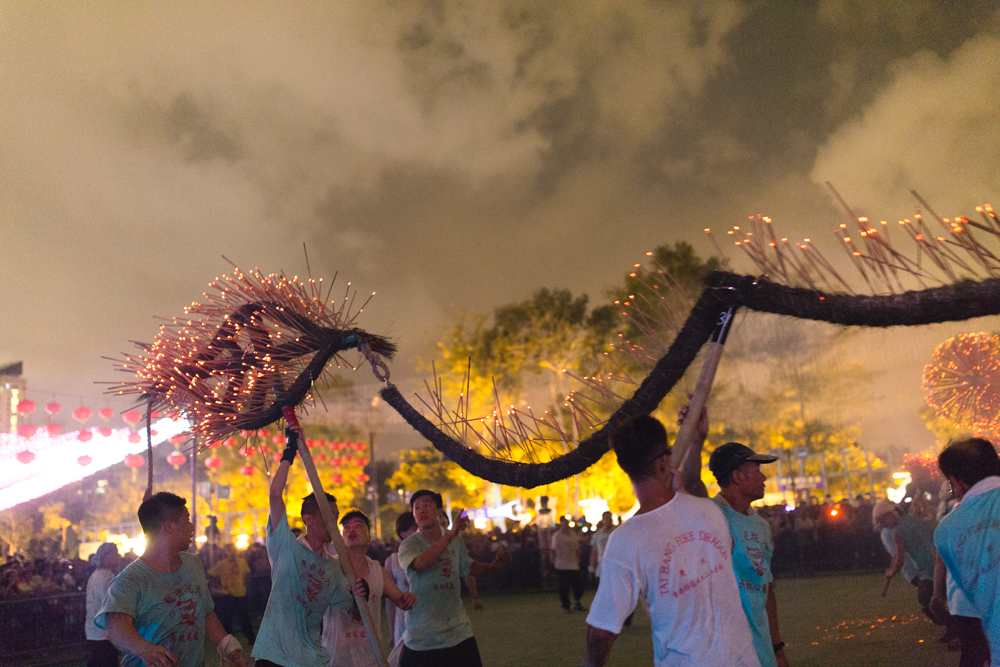 Highlights of Fire Dragon Dance | Hong Kong Mid Autumn Festival in October
