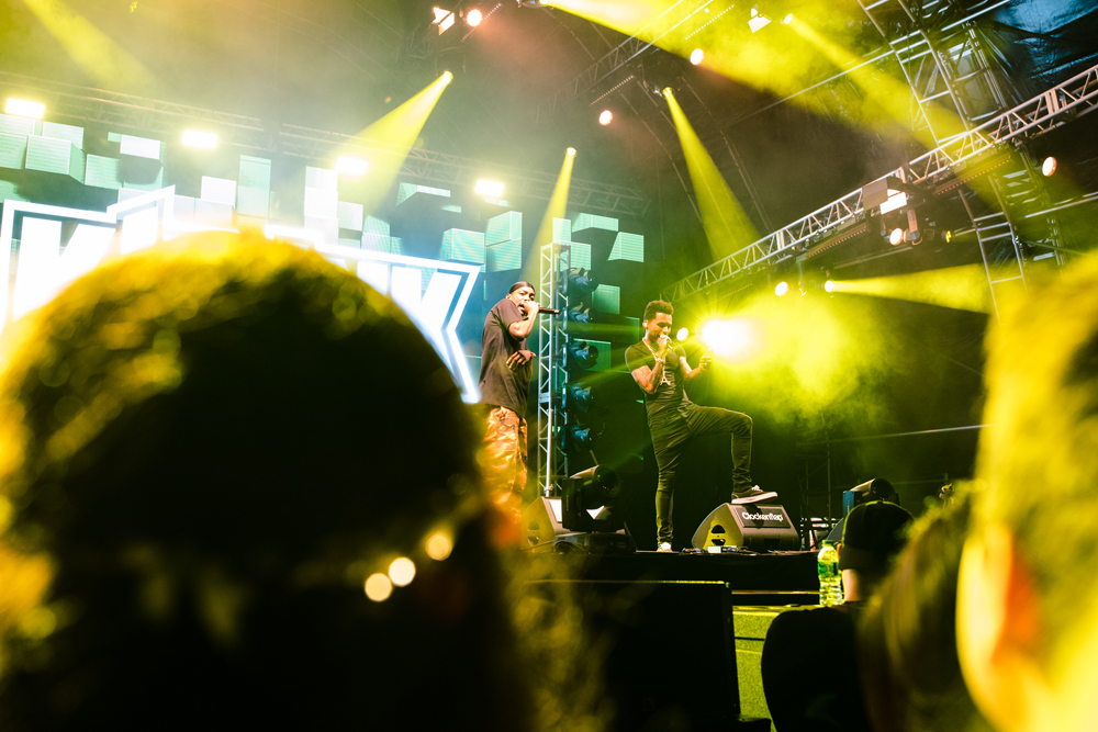 Kid Ink at Hong Kong Clockenflap music festival | concert photography