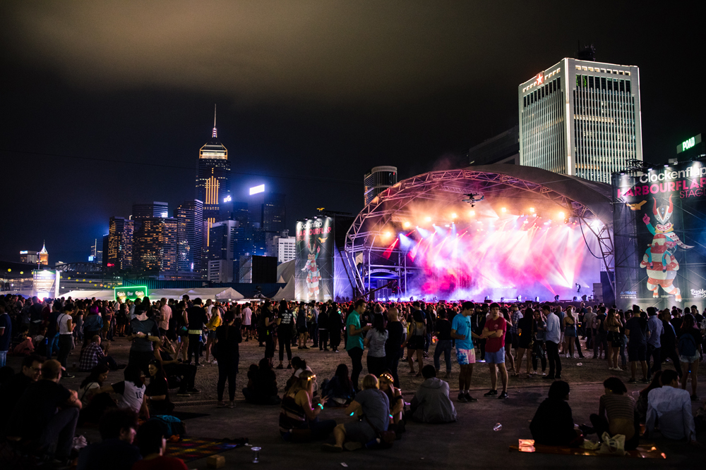 Clockenflap 2017 | Hong Kong Central Harbourfront