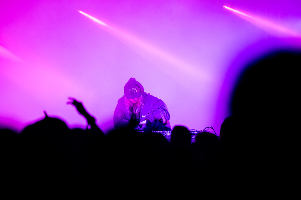 Cashmere Cat performing at Hong Kong Clockenflap
