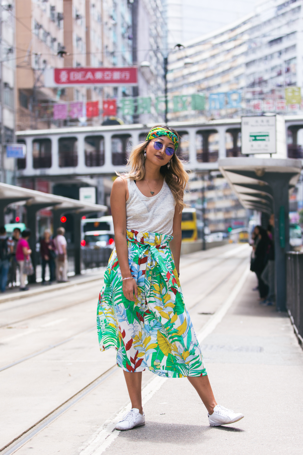 Colorful fashion portrait in Hong Kong | North Point | Photography by Tracy Wong