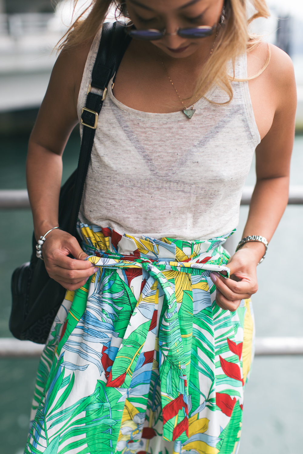 Fashion details on blogger Helen Chik | Photographed in Hong Kong by Tracy Wong