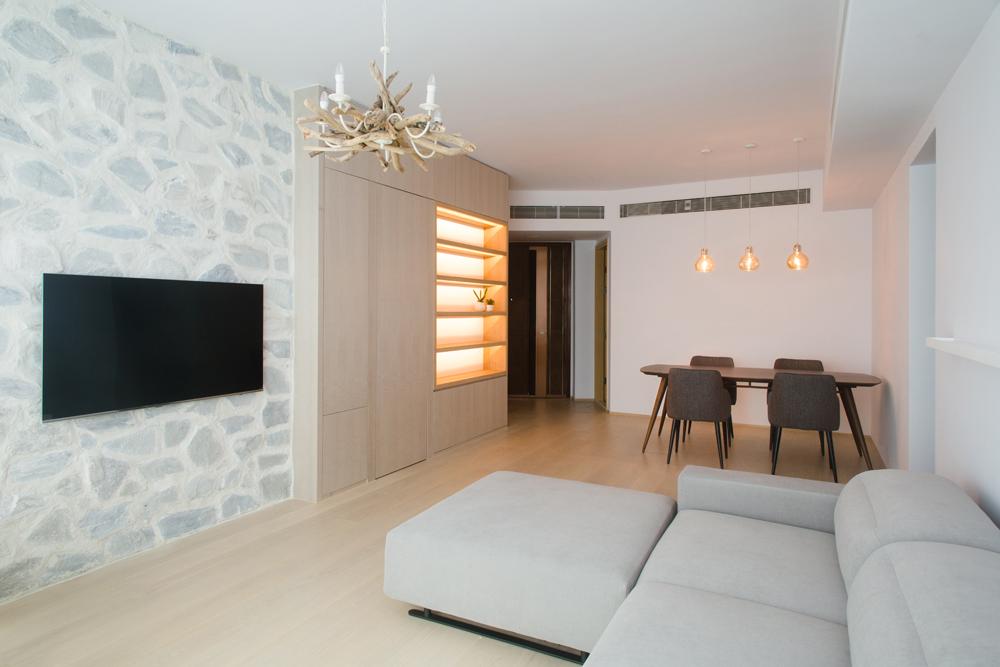 Interiors Photography | Living Room at Kennedy Park Hong Kong