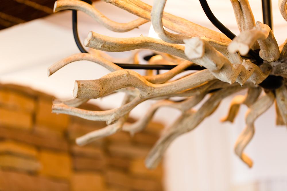 Wooden lamp details | Hong Kong interior design photography