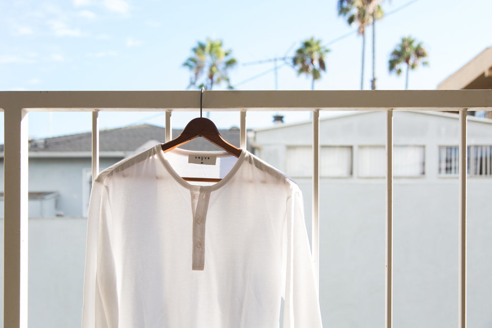 Palm trees and henley | Photography for UNCVR in California