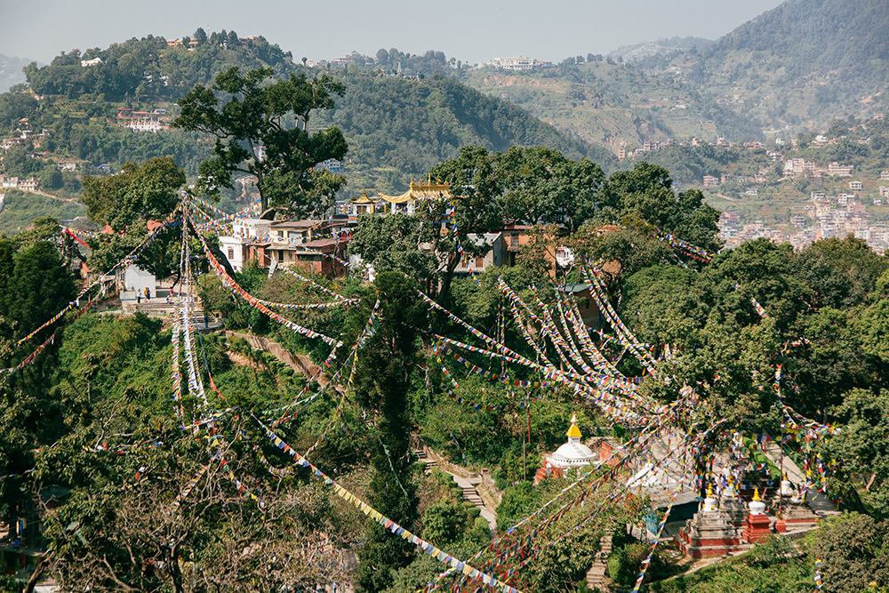 Kathmandu Hills | Swayambhunath Monkey Temple | Travel Photography