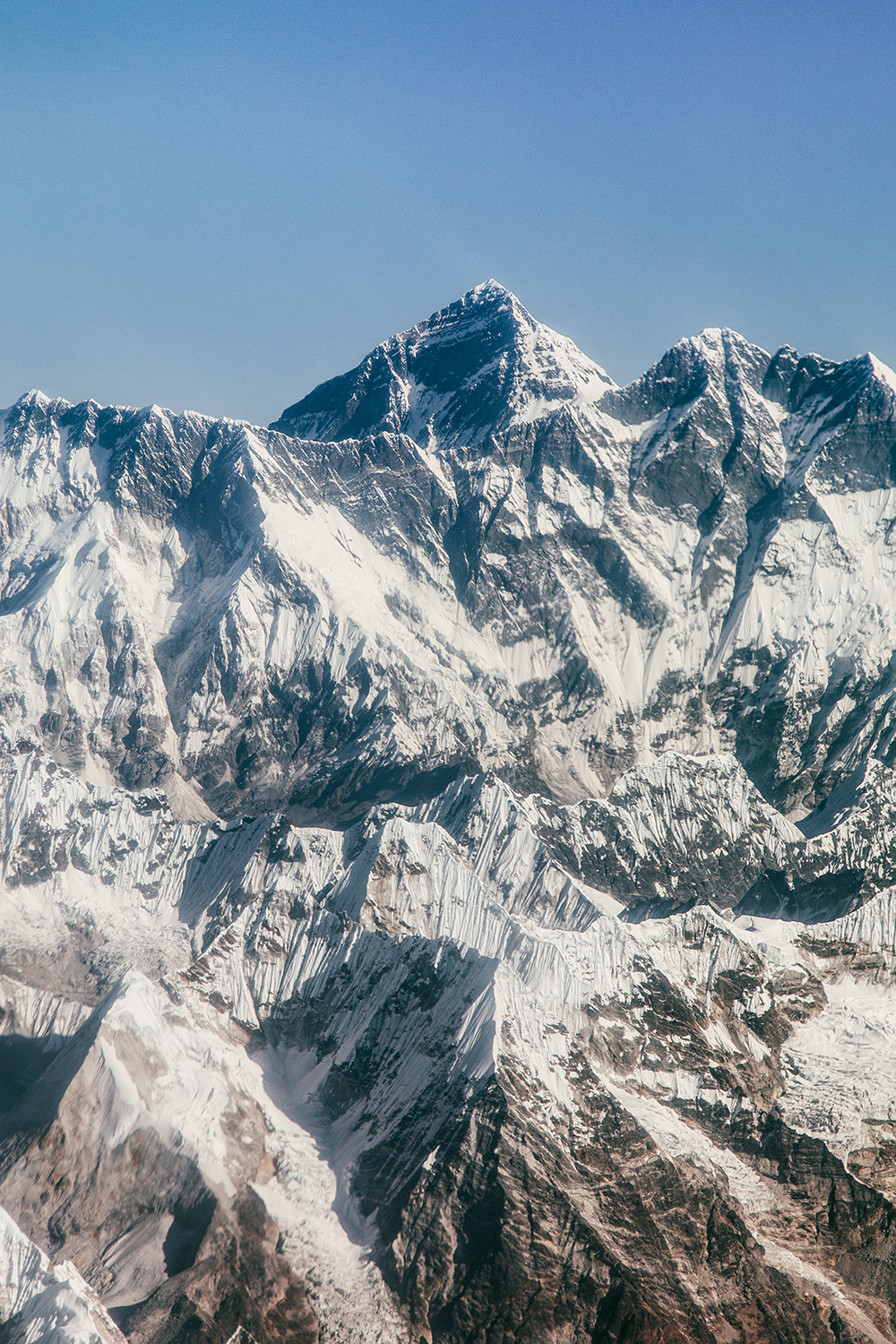 View of Mount Everest and the Himalayas | Everest Experience flight