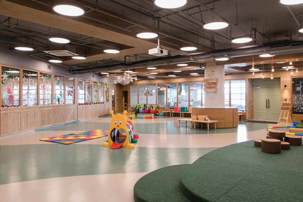 Family center in Tai Kok Tsui | Learning Habitat Families | interior design photography