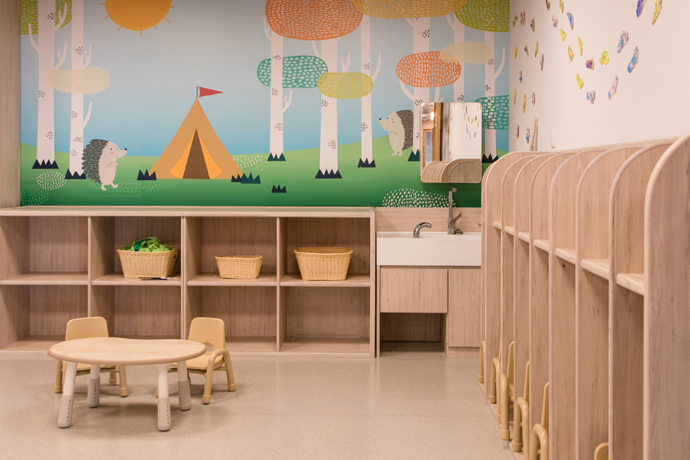 Kindergarten interior design | Hong Kong Liquid Interiors | Learning Habitat Families