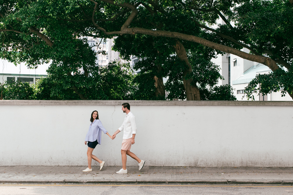 Maternity Photography Hong Kong | couple portraits in Sai Ying Pun