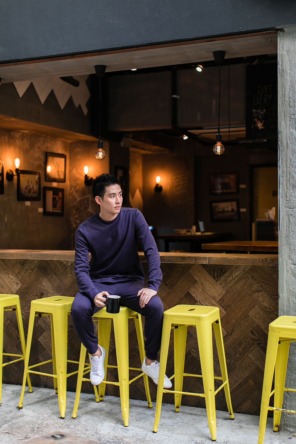 Photographed at Bread and Beast Hong Kong   UNCVR winter campaign   by Tracy Wong
