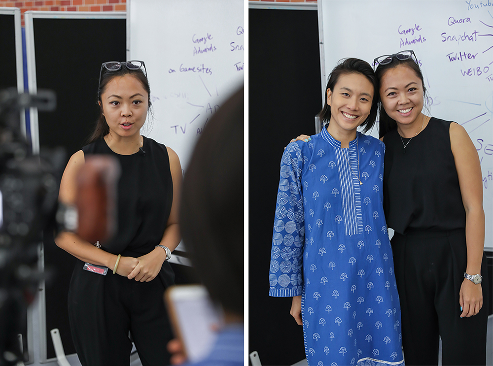 Tracy Wong and Natalie Chan | OWN Academy school programs in Hong Kong