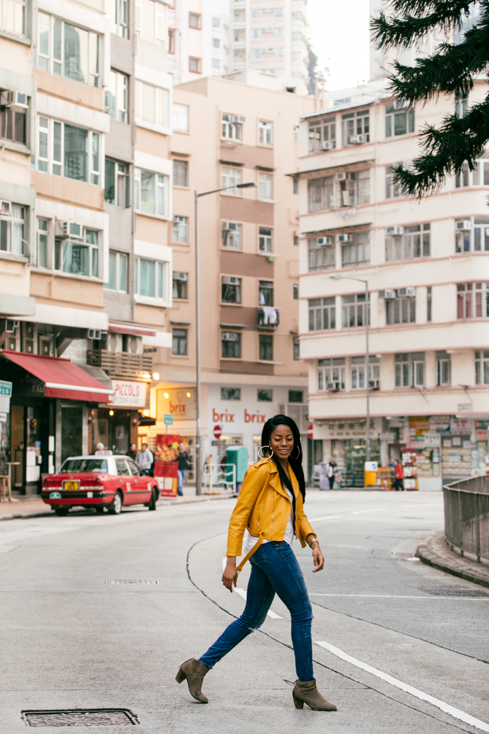 Tin Hau stride by | Hong Kong street portraits | by Tracy Wong