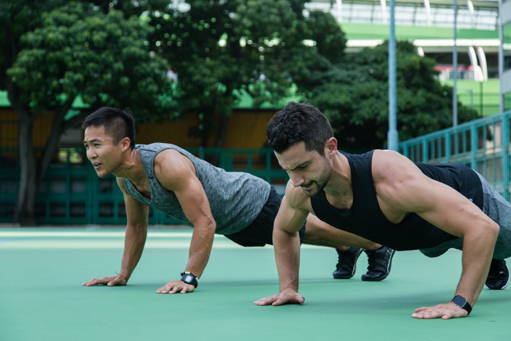 Hong Kong Lululemon ambassadors | John Ho and James Theos | photographer Tracy Wong
