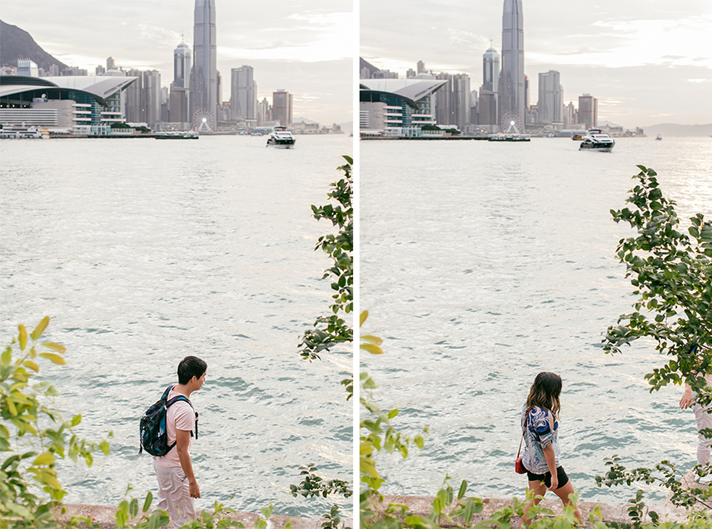 A pair | couple portraits at Victoria Harbour
