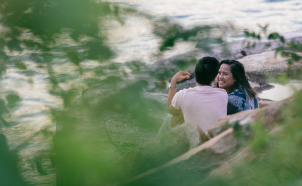 Couple portraits and marriage proposal | Capturing the natural moment