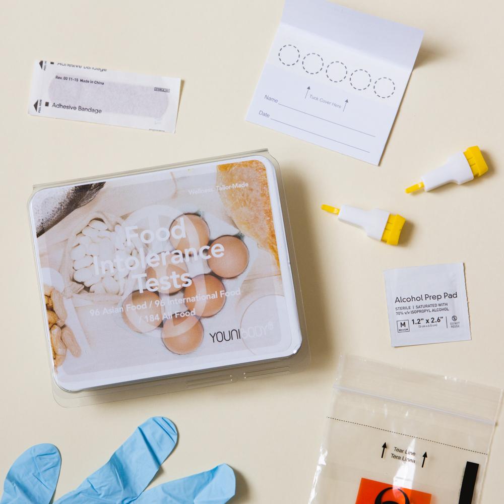 Younibody Food Intolerance Test| Hong Kong product photographer