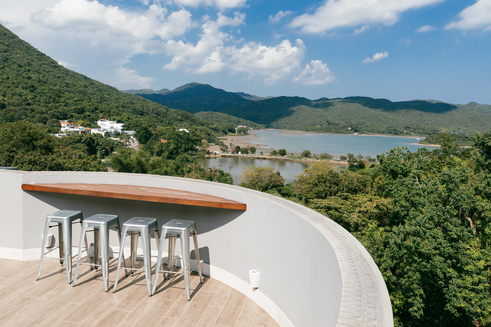 Rooftop View in Sai Kung | Tracy Wong | HK Interior Photographer