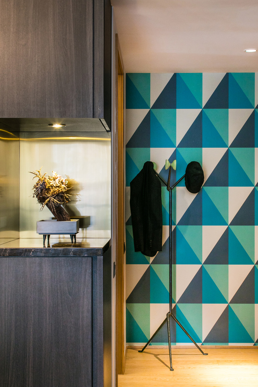 Patterned Feature Wall | Asia Interior Design