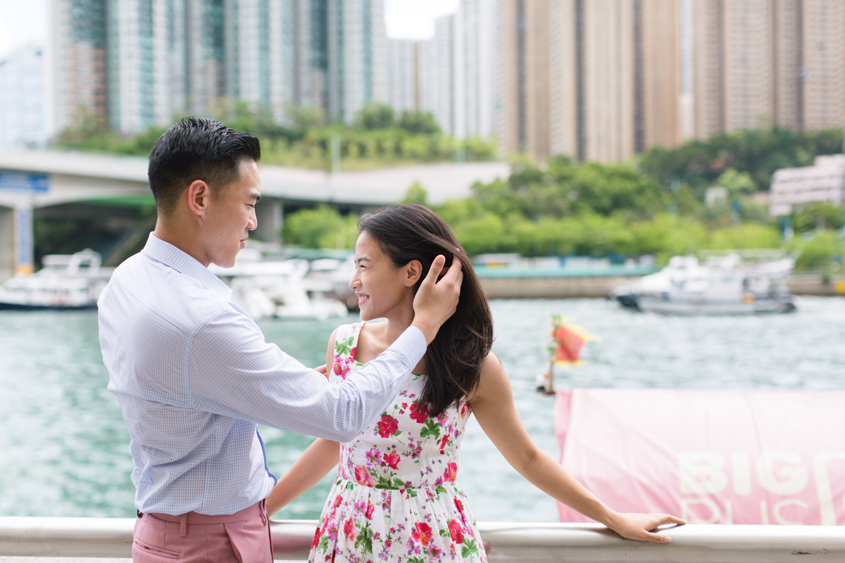 Seaside | Pre-wedding Shooting in Aberdeen | Couple | Tracy Wong | HK Photographer