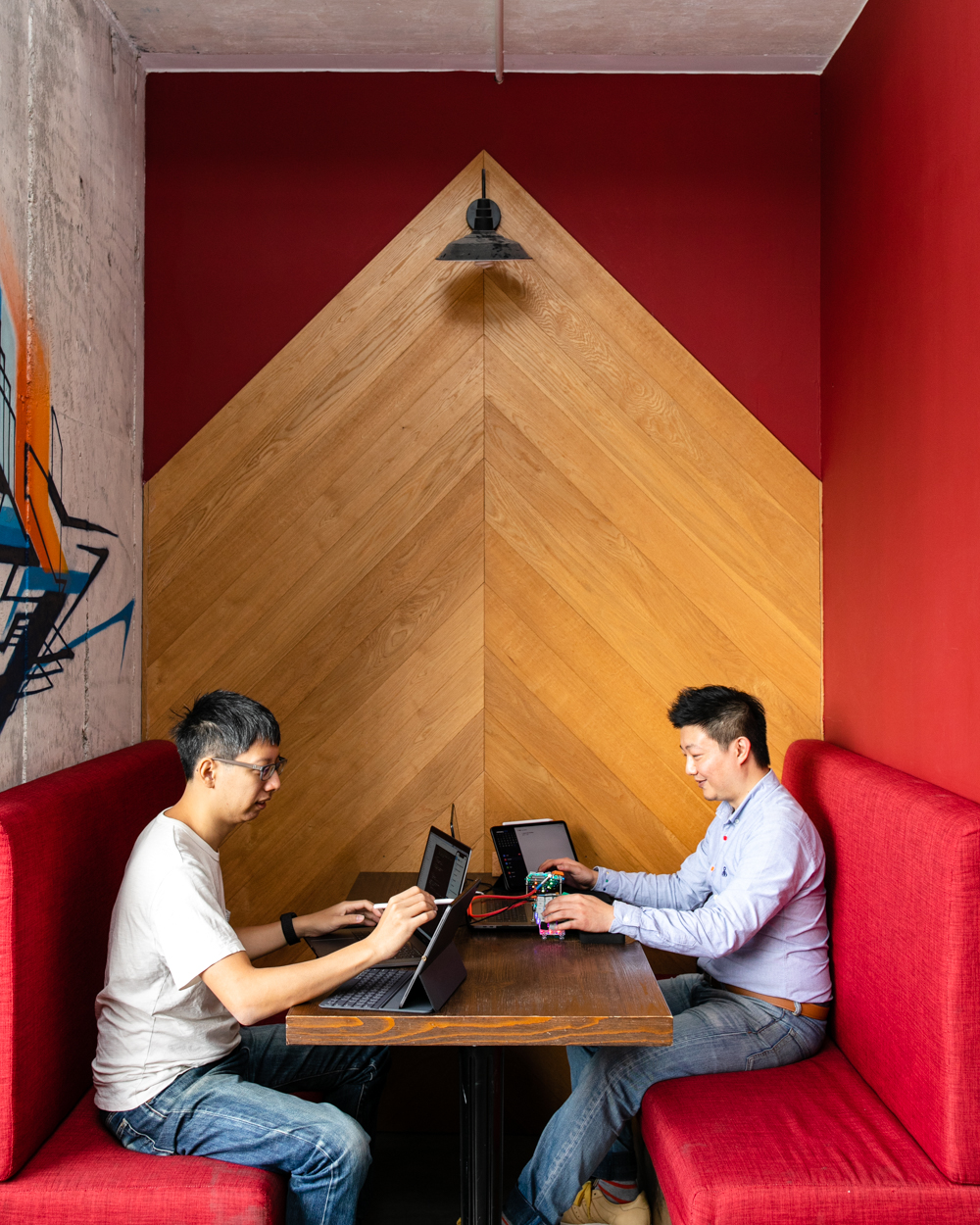 Leo and Harry of Sorted | Hong Kong startup co-founders