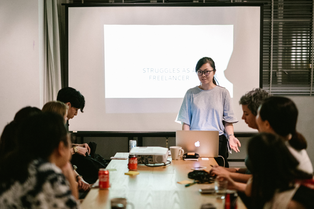 How to be a Freelancer – Hong Kong Workshops by Tracy Wong