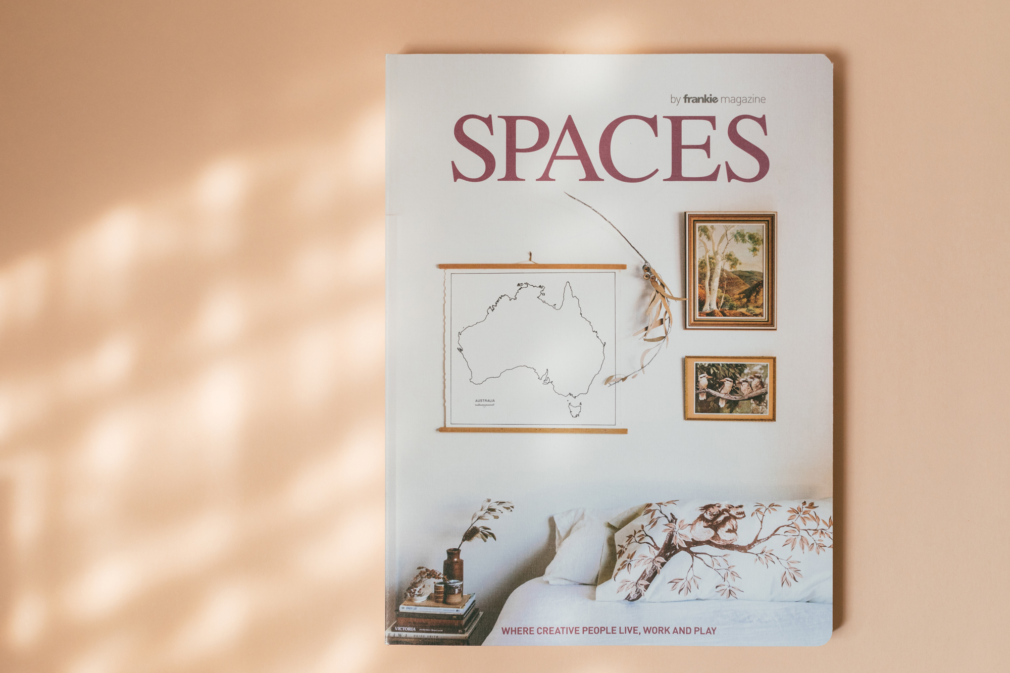 Spaces Magazine Cover by frankie press