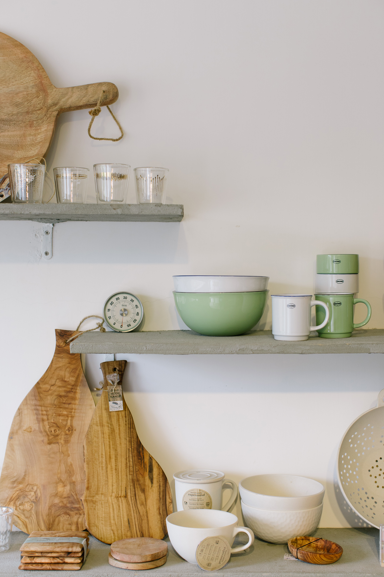 Store shelf displays at Pimary • interiors photographer in Hong Kong