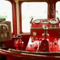 Steam train controls