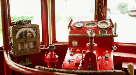 Visiting Anduze by an antique train